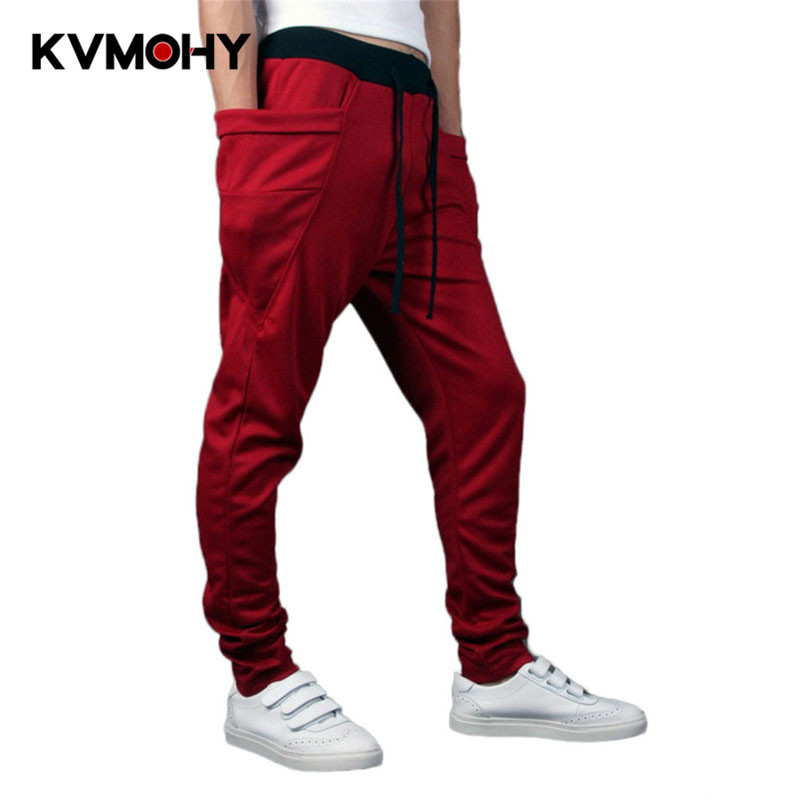 Sweatpants Male Tracksuit-Bottoms Trousers Joggers Casual-Pockets Camouflage Hip-Hop
