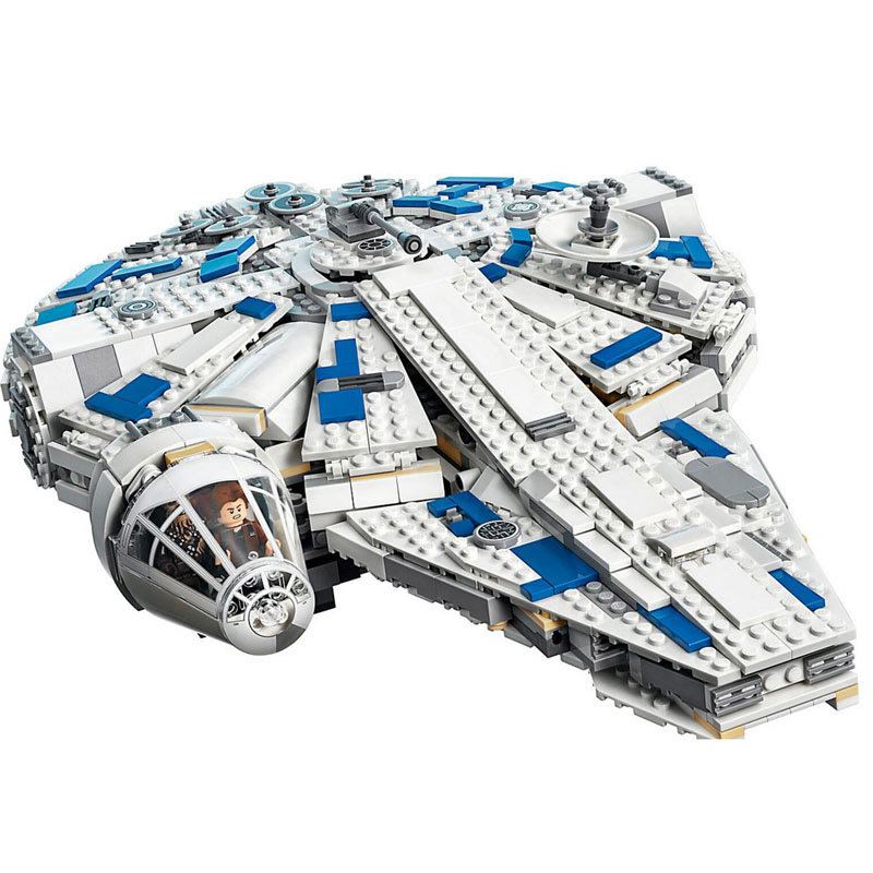Star Wars Kessel Run Millennium Falcon Model Building Block Toys Compatible with Legoings Star Wars 75212