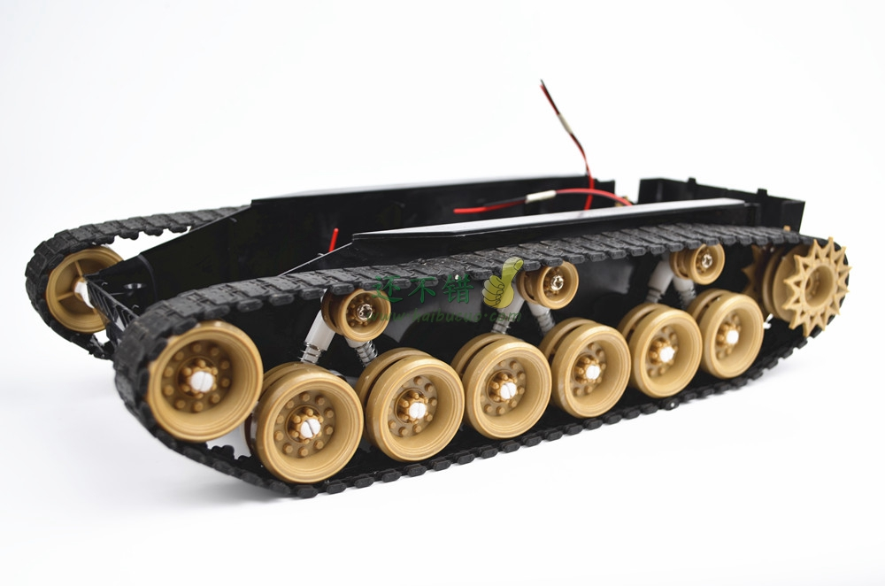 Shock absorbing robot chassis tank super large caterpillar vehicle suspension video car smart car assembly water absorbing oil absorbing cleaning cloth