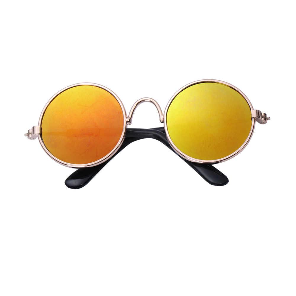 1PC 사랑스러운 애완 동물 고양이 안경 개 안경 작은 개를위한 애완 동물 제품 고양이 눈 착용 보호 개 선글라스 사진 애완 동물 Accessoires