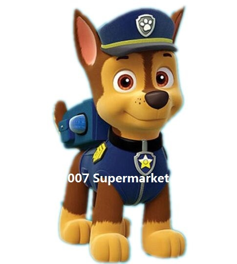 € 62 38 |PAW PATROL Chase Iron On Transfers Film TV MOVIE Cartoon Kids BOY  Patch Logo Badge Free Shipping en Parches de Hogar y Jardín en