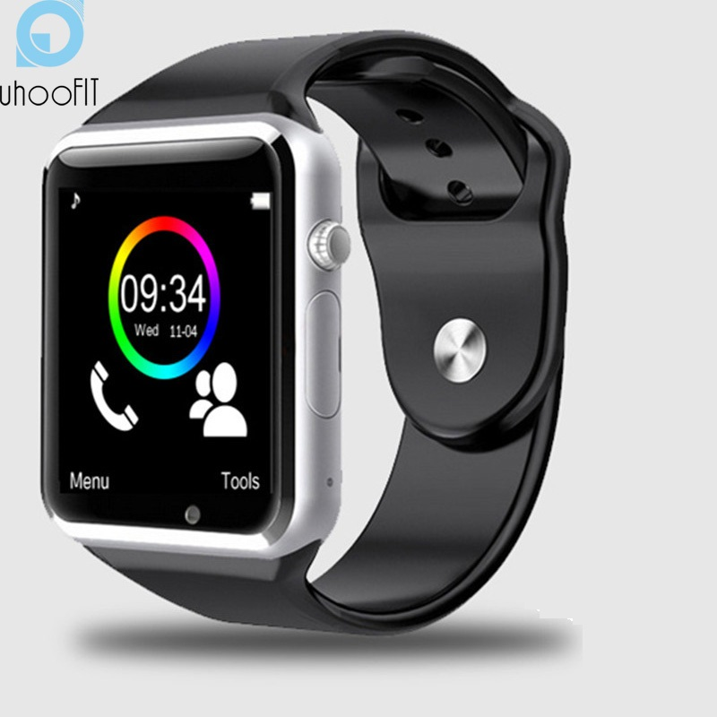 free shipping A1 WristWatch Bluetooth Smart Watch Sport Pedometer With SIM Camera Smartwatch For Android Smartphone Russia T15 zeus watch