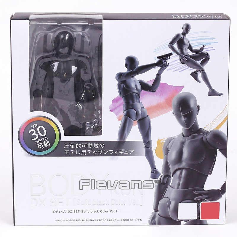 CORPO KUN/CORPO CHAN DX Action SET PVC Figure Da Collezione Model Toy con il basamento 4 Colori