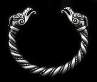 1pc Handmade Norse Viking Dragon Bangles Bracelets B 08 1