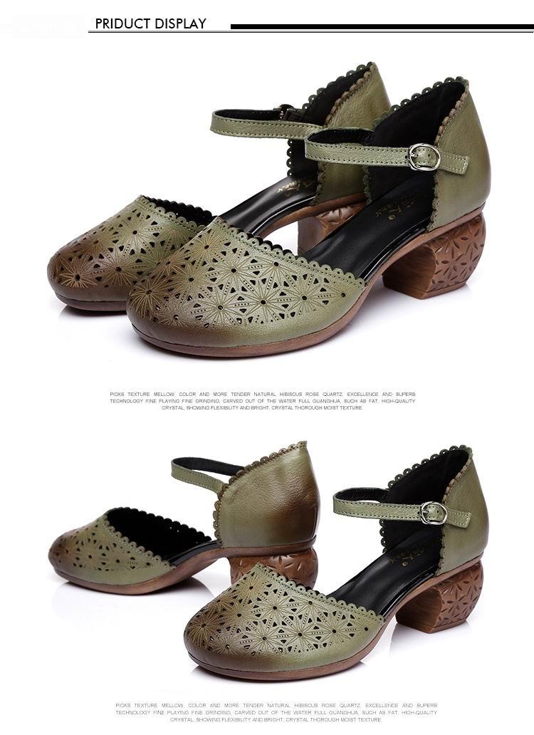 5 Aushöhlen Frauen Sandale 14