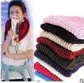 Бесплатная доставка осень зима новый мужской женские шарфы женщина вязаный шарф тепло шерсть шарфы воротник
