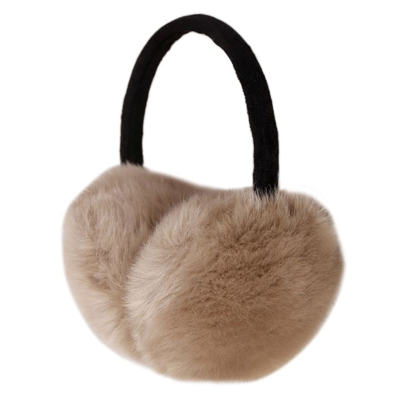 2019 Winter Earmuff Imitation Rabbit Women Fur Earmuffs Ear Warmers  Large Plush