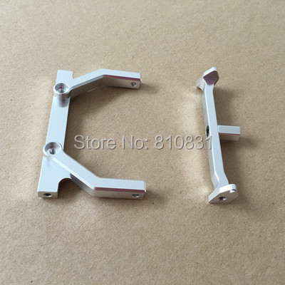 Axial SCX10 Aluminum Front Cross Brace set aluminum front knuckle arm 2pcs for axial ax10 scx10 silver