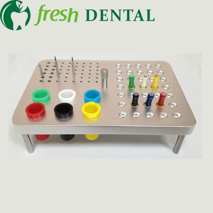 Dental sterilization box For Gutta percha root canal file high speed bur disinfection box dental tool box disinfection box SL308 endodontics dental cordless endo motor for root canal treatment reduction 16 1 contra angle
