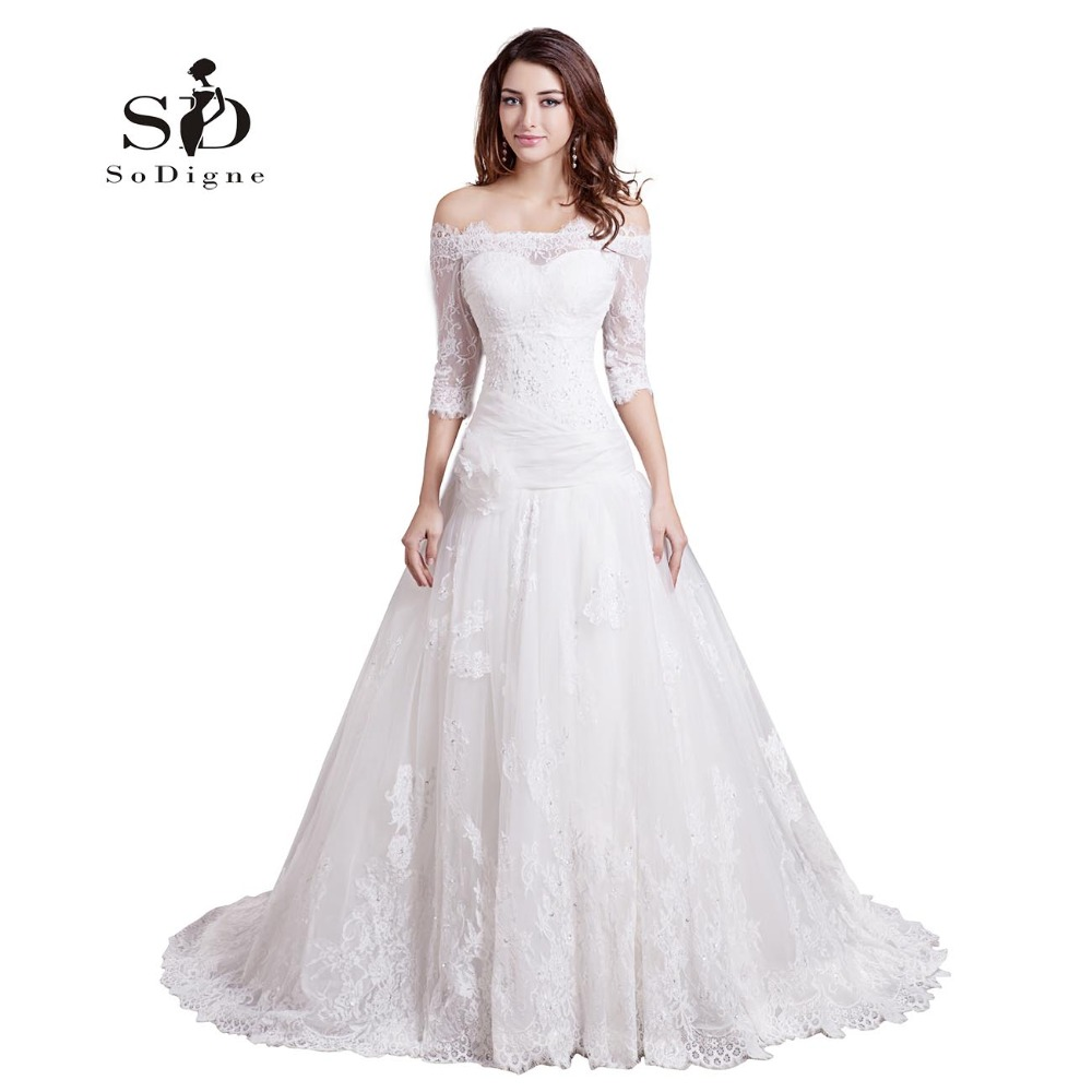 Wedding Dress 2017 SoDigne
