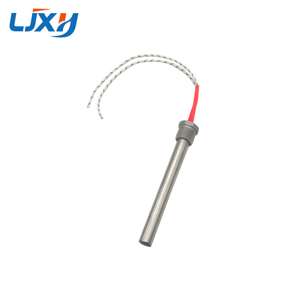 LJXH DN15/21mm Thread Cartridge Heater Heating Element 12x150/200mm Tube Size AC110V/220V/380V 201 Stainless Steel