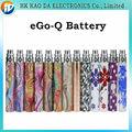 Bateria recarregável para o cigarro eletrônico eGo Q bateria, rainha ego bateria para ce4 ce5 atomizador vaporizador bateria ego 1100 mah