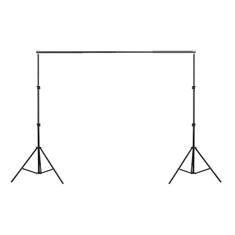 SUPON PRO Photography 2m*2m Backdrop Stand Background Support System W/ Carry Bag kit lightdow 2x3m 6 6ftx9 8ft adjustable backdrop stand crossbar kit set photography background support system for muslins backdrops