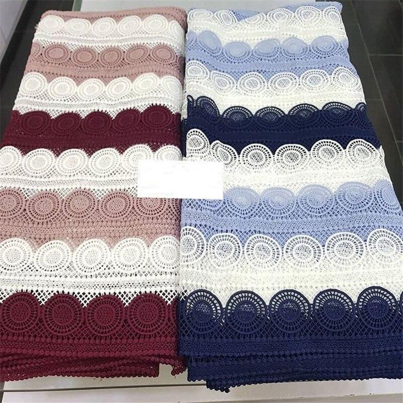 도매 가격 수 놓은 최신 guipure 레이스 원단, ab2 고품질 나이지리아 코드 레이스 드레스, 2018 아프리카 레이스 원단-에서레이스부터 홈 & 가든 의  그룹 1