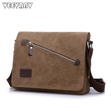 Fashion 2018 Men s Messenger Bags Canvas School Shoulder Bags Travel Teenager  Boys Casual Men Business Briefcase eb70c30254f59