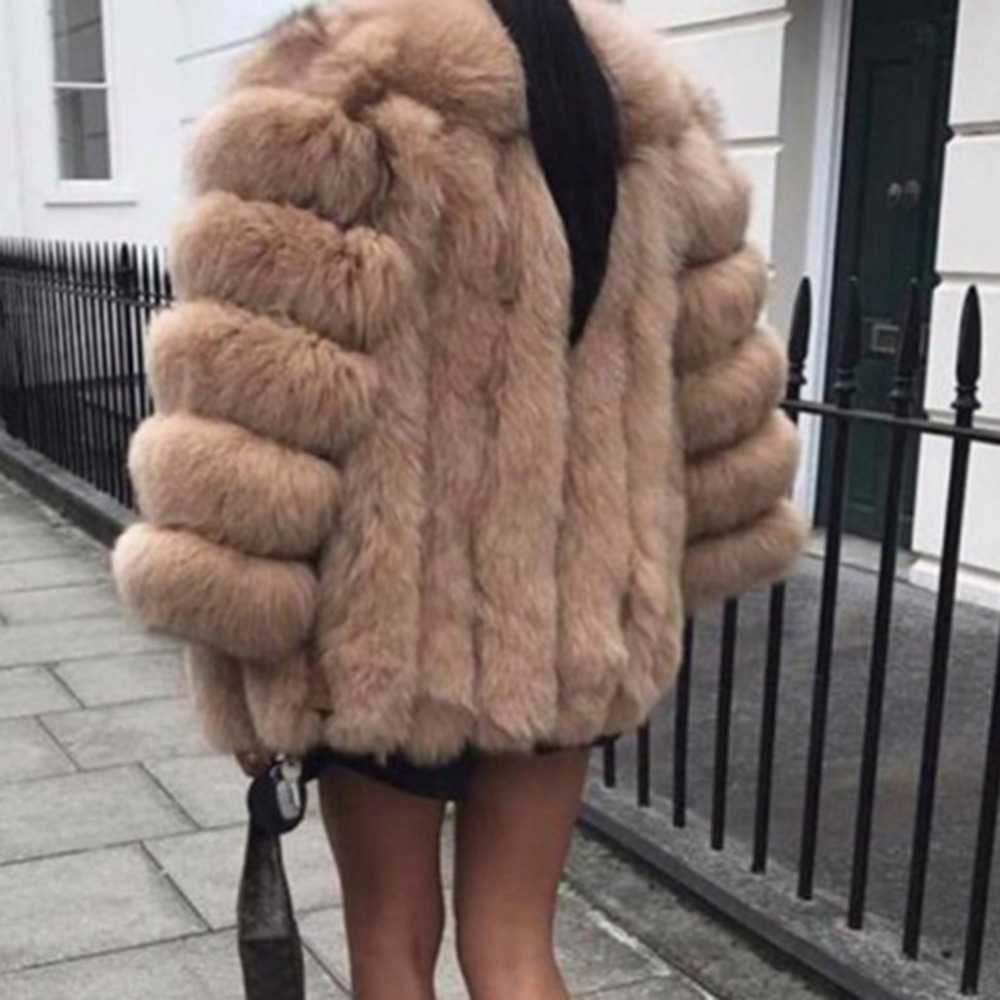 leopard Invierno Marca Espesar Piel Caliente gris rosado La Famosa Abrigo marrón Chaqueta Las Casa Mujer Yjsfg Outwear negro Mujeres Sintética Felpa Blanco Teddy De SwgqZxY