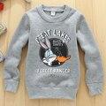 Nuevos niños sudaderas gris chicos ropa deportiva activa tracktsuits ropa para niños sudaderas niños sudaderas con capucha niños clothing