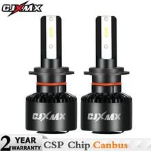 CJXMX H4 H7 LED Headlight Bulbs H11/H8/H9 9006/HB4 Canbus Car Lights 60W 8000LM/set 6500K CSP Chip Auto Headlight Fog Light Bulb цена в Москве и Питере