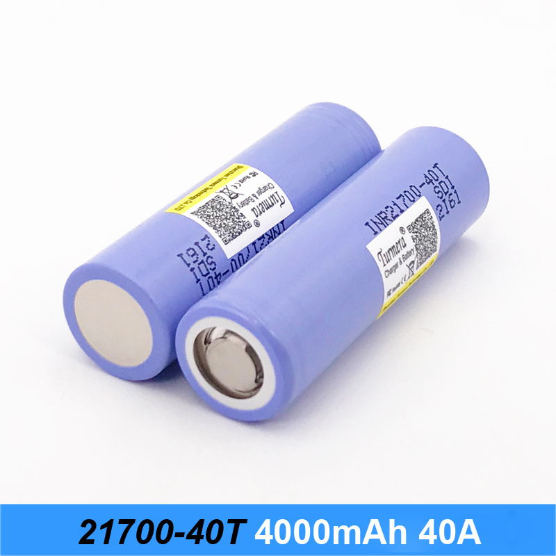 battery for 21700 40T 4000mah 30a battery for electric cigarette and screwdriver battery electric bike 21700 pack for Turmera