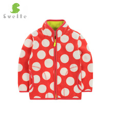 Svelt Brand 2017 Spring Fall Winter for Children Kids Girls Cute Soft Fleece Jacket Coat Outerwear Cardigan Clothes Sweatshirt