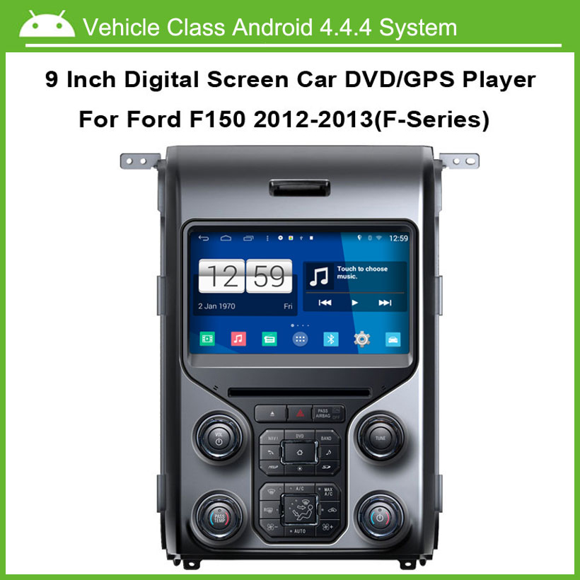 Android Car DVD Player For Ford F150 2013 GPS Navigation Multi-touch Capacitive screen,1024*600 high resolution.