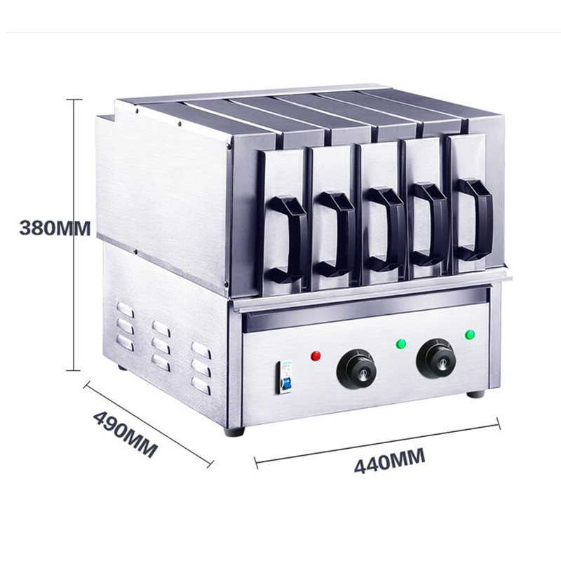 220V Commercial Barbecue Grill Machine 3/5/7 Lamb Kebab Ovens Stainless Steel BBQ Barbecue Machine For Household Using three groups of kebab ovens commercial electric oven machine
