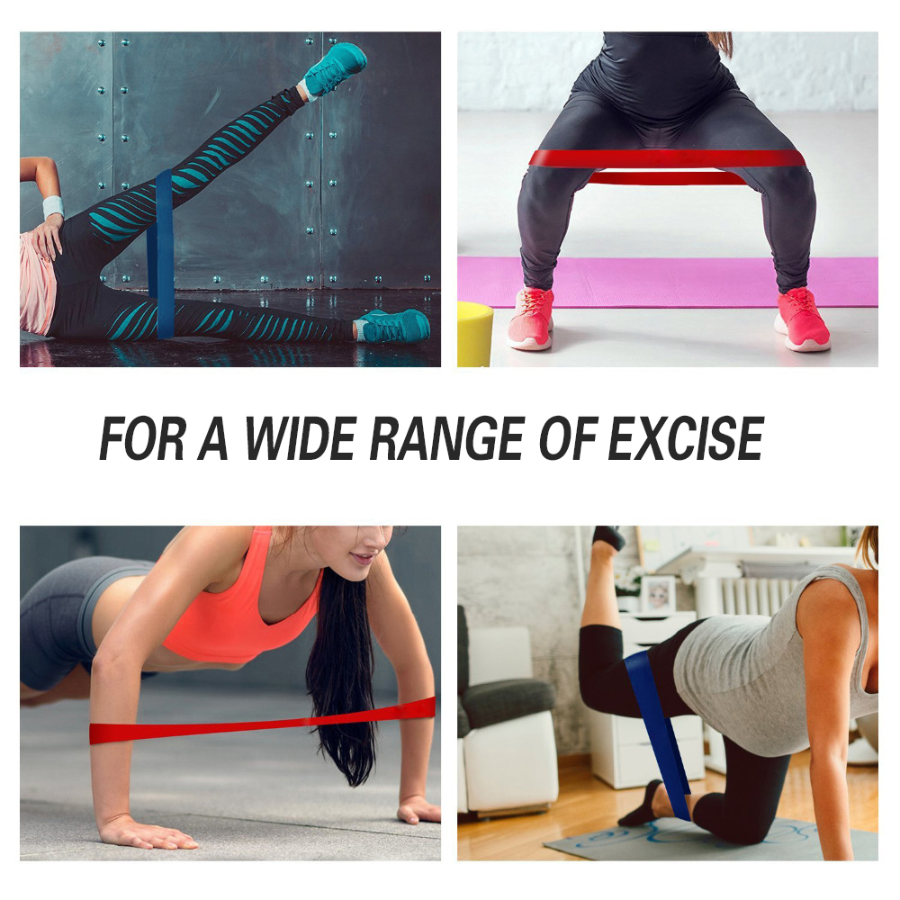 Resistance Bands Loop Elastic Band for Fitness Equipment Workout Expander Fitness Gum Latex Rubber Bands Sport Yoga Exercise Gym 5