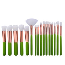 2017 New product 16pcs Makeup Brushes Set Eyeshadow Blending Brushes Powder Foundation Eyebrow Eyeliner Brushes Cosmetic Tools