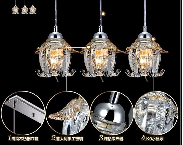 Led Lampen Direct : Neu moderne kristall lampe hängenden draht pendelleuchten led