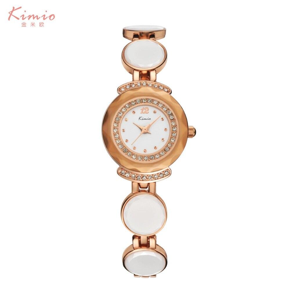 Kimio Fashion luxury Women's Diamond watch quartz watch bracelet watch Ceramic Ladies Luxury Bracelet Watches цена 2017