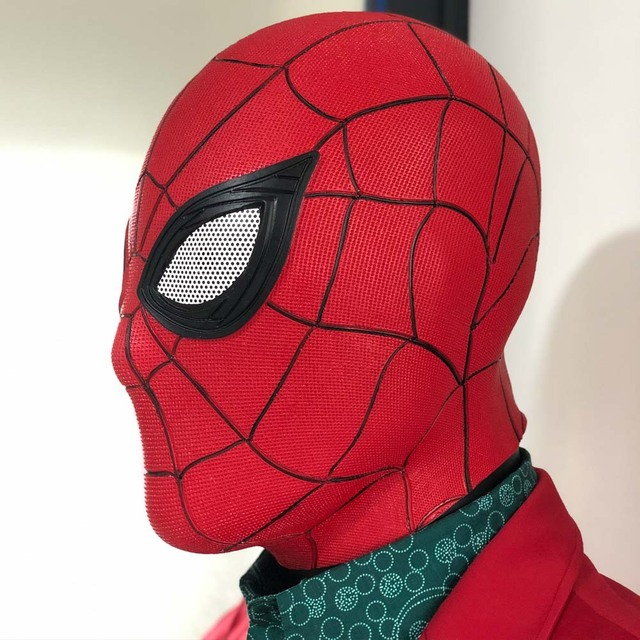 Spider Man Far From Home Mask Latex Version 2 One Size 3
