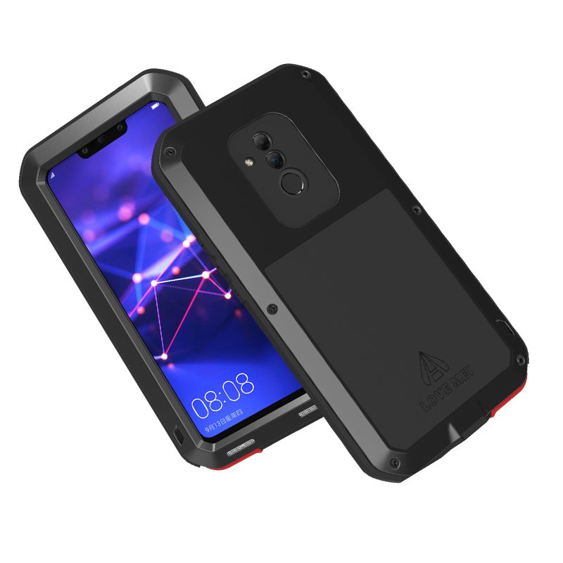 For Huawei Mate 20 Lite Case Waterproof Cover for Huawei Mate 20 Lite Aluminum Metal Shockproof Case For Huawei Maimang 7 Cover