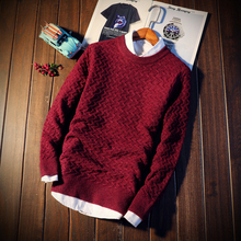 2018 Mens Long Sleeves Sweater Autumn and Winter Men Fashion Business Comfortable Selling Slim Multi-color Selection Size S-2XL