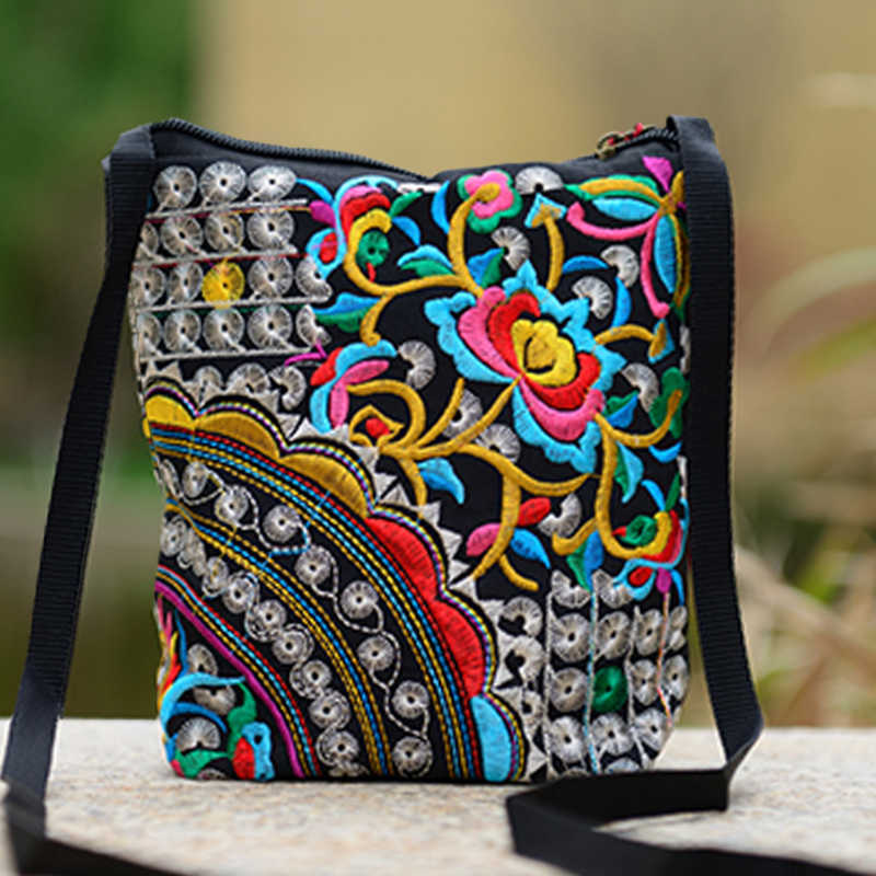 cdd1ad40b2e Detail Feedback Questions about Floral Boho Thailand Embroidered ...