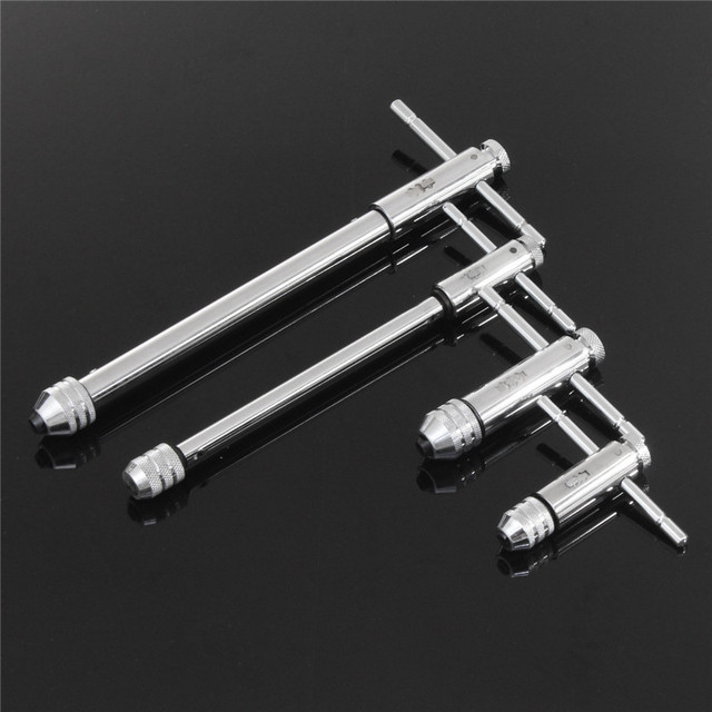 Handle Ratchet Tap M3 M8 M5 M12 Lengthen Reversible T Taps Wrenches ...