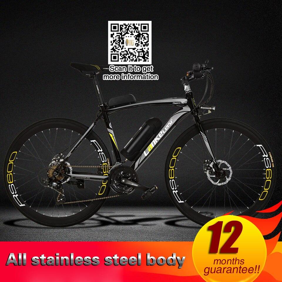 36 v 10A/15A/20A au lithium vélo électrique, 700C cassé vent assistée électrique vélo de route