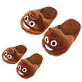 Emoji Plush Stuffed Unisex Slippers Cartoon Winter Home Indoor Adult Women Men Children Kids Soft  Slipper