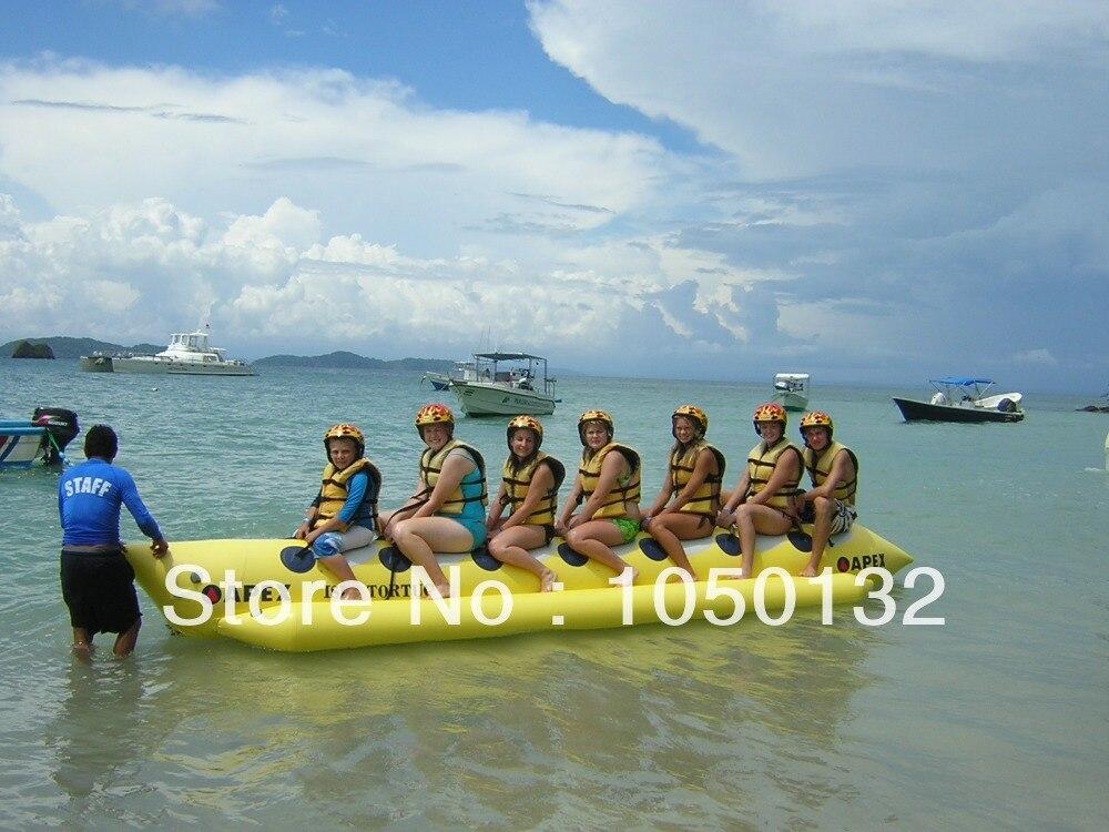Vente chaude plaisir de l'eau gonflable banana boat