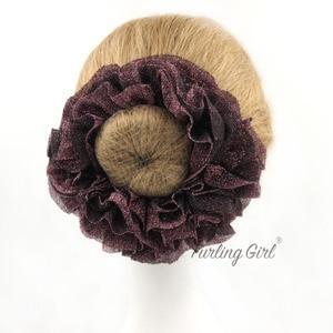 Image 4 - Furling Girl Large Size Muslim Handbands Flexible Rubber Band Comfortable Volumising Scrunchies Hair Tie Hair Bands for Women