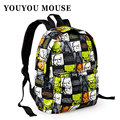 YOUYOU MOUSE New Star Wars Cartoon Printing Backpack School Bags Hot Sale Little Kids Satchel Student Boy Schoolbag Travel Bags