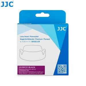 Image 5 - JJC LH SH131 Pétala estilo Capa de Lente Para Sony Sonnar T * FE 55mm f/1.8 ZA, sonnar T * E 24mm f/1.8 Lente Substitui Sony ALC SH131 ZA