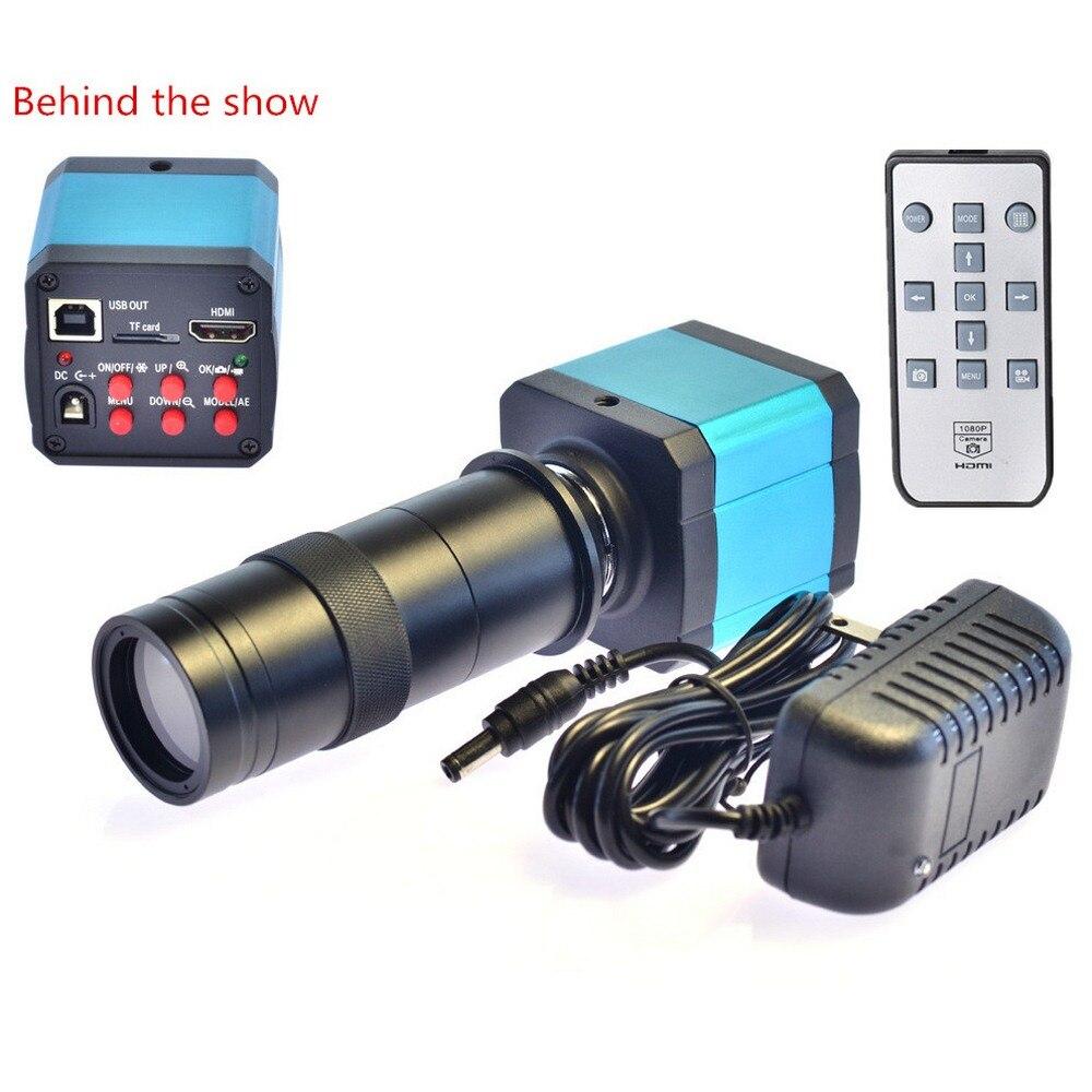 14MP HD Microscope trinoculaire HDMI USB caméra vidéo de l'industrie numérique pour adaptateur de Microscope Zoom stéréo