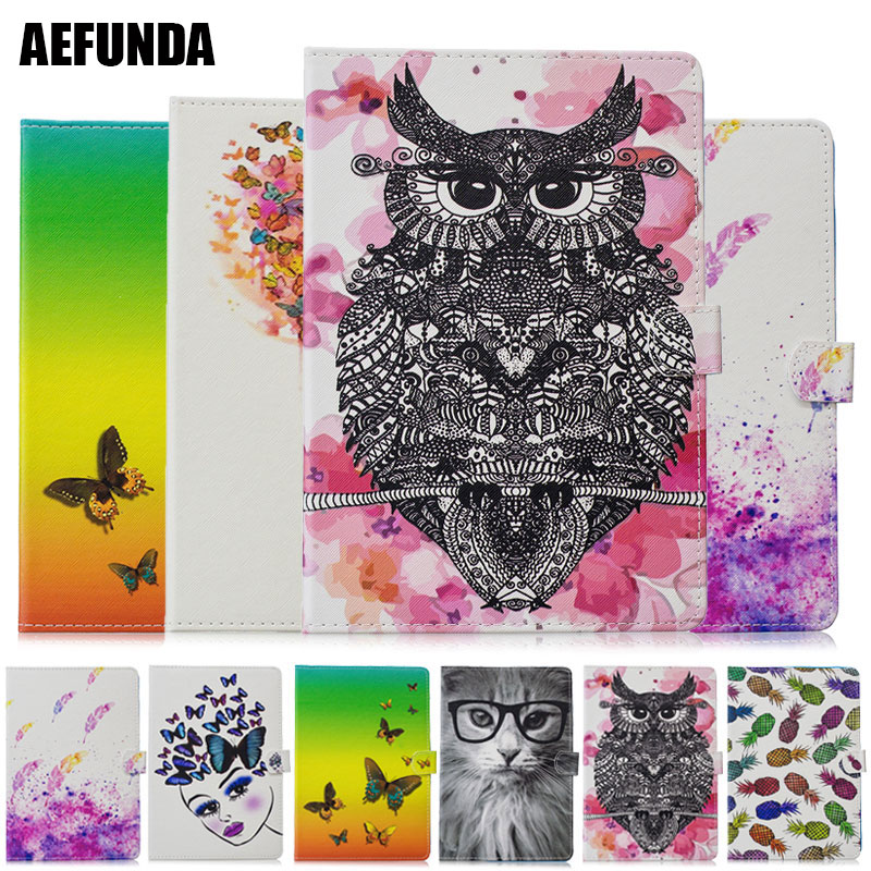 Flip Book Wallet Tablet Case for iPad Pro 10.5 inch 2017 Animal Glasses Cat Butterfly Do What You Love Folio Book Wallet Holster image