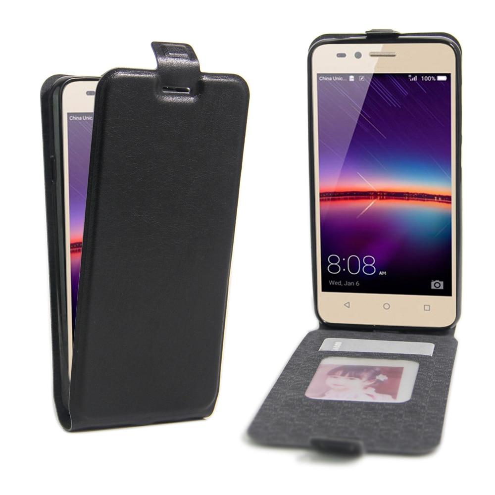 vasta selezione di 29a4c bd683 US $2.99  Leather Case For Huawei Y3 II Lua u22 Lua l21 Silicone Wallet  Flip Cover For Huawei Honor 5C Phone Case For Huawei Y3 2 4.5
