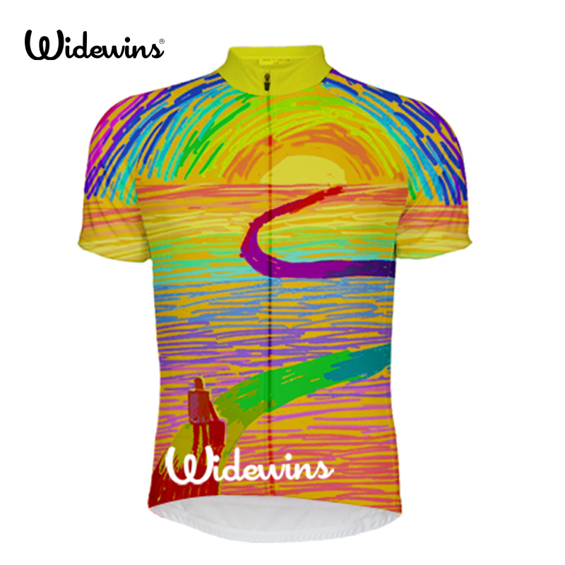 New Highway SportsWear Mens Cycling Jersey Cycling Clothing Bike Shirt Size  2XS TO 6XL 5673 bc0681163