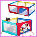 Baby Game Fence Portable Baby Playpen Crib Crawling Pad Toddler Game Fence Home Kids Safety Play Anti-fall Playpen 0~5Y