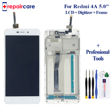 Free Shipping 5.0 LCD For Xiaomi Redmi 4A LCD Display Touch Screen Digitizer Replacement For Xiaomi Redmi 4A Display lcd display screen replacement fo prestigio multipad 8 0 hd pmt5587 wi tablet lcd display free shipping