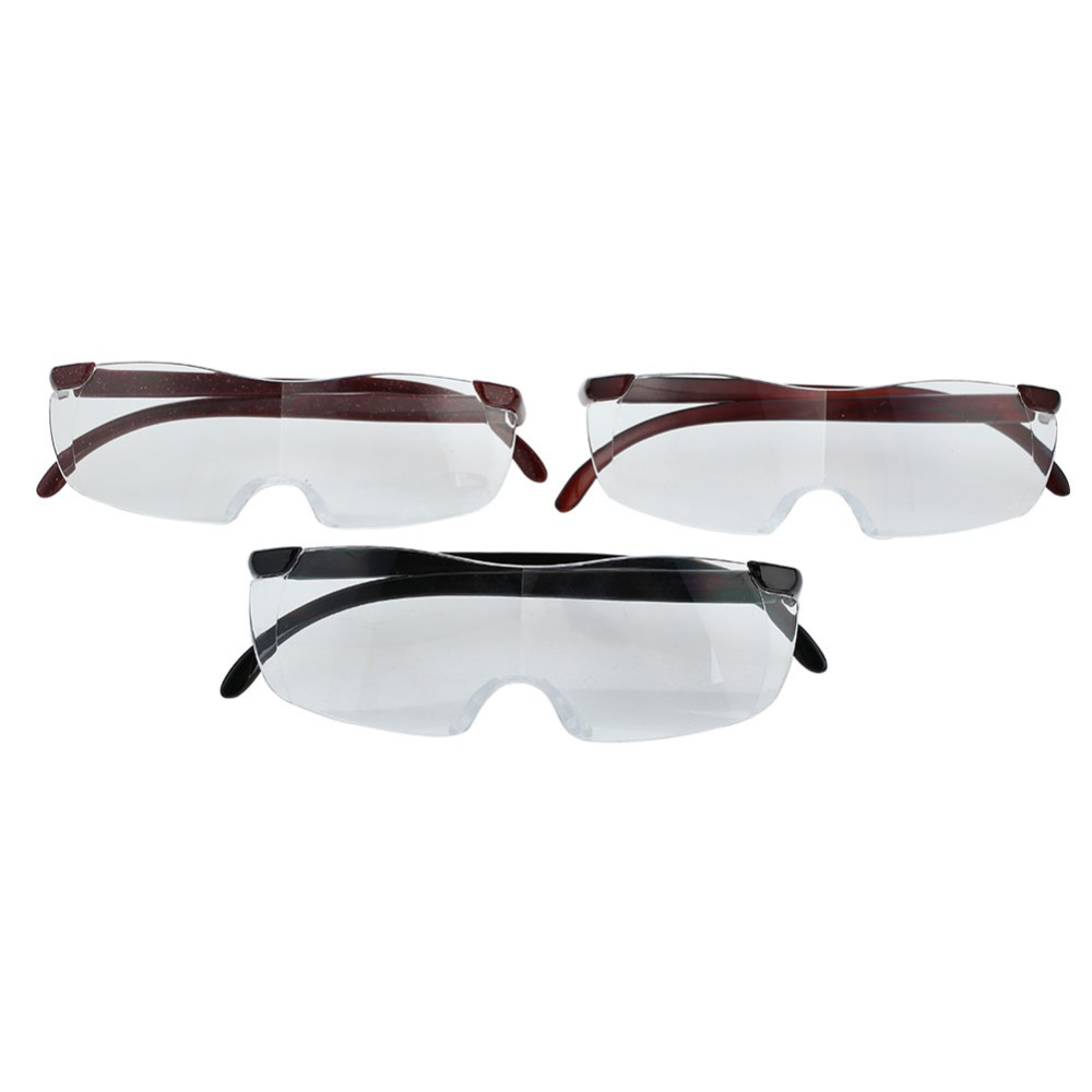 90372e76b53 250% Vision Pro Magnifying Glasses Unisex Eyewear Reading Magnification  Gift For Needle Magnifier Waitching Lightweight Glasses
