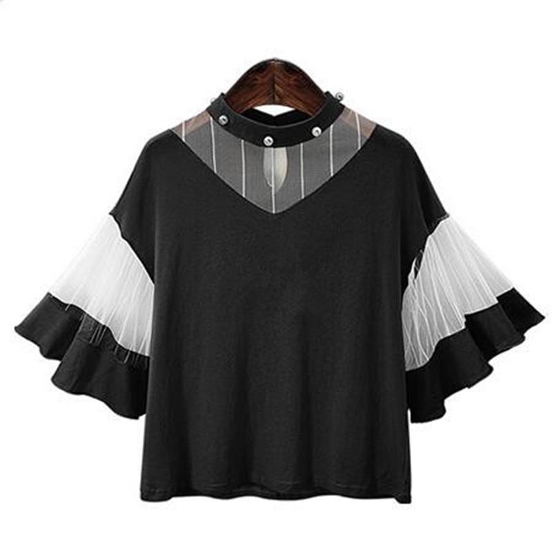Hot Sale font b 2017 b font Summer New Young Women Fashion Sweet Shirt font b