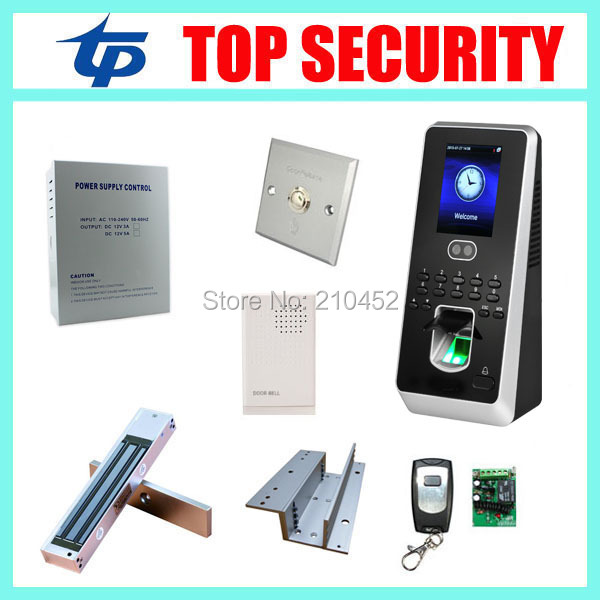 dhl free shipping face fingerprint password time clock attendance english interface zk iface7 face recognition access control Biometric face and fingerprint access controller with time attendance linux system Multibio800 face recognition access control